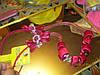 Бусы ожерелье ФУКСИЯ РОЗОВЫЕ шикарное атлас длинные, фото 3
