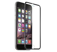 3D Metall защитное стекло для iPhone 6 / 6S - Black, фото 1
