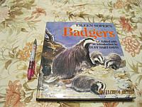 На английском языке книга БАРСУКИ BADGERS альбом