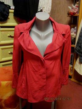 ZARA плащ розовый пиджак куртка 44 S 10