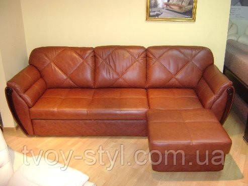 Перетяжка мебели кожей 3