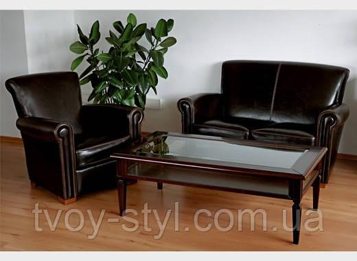 Перетяжка кожаной мебели в Днепропетровске 16