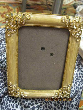 Рамка фото рамка камені ошатна фоторамка метал