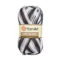 Пряжа для вязания (Акрил (92%), Металик (8%)) YarnArt Gold melange 9502