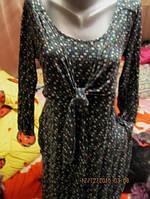 Платье трикотаж фирменное 48 M 14