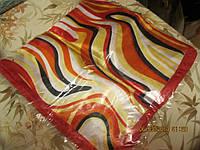 КВАДРАТНЫЙ новый яркий платок красный 52 на 51см