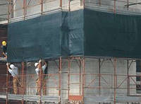 Сетка для защиты строительных лесов