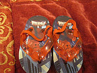 Босоножки тапки детские Спайдермен Spider-Man сандалии