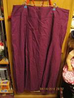 Фирма SAVOIR женская юбка стильная лен XL 54 20