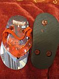 Босоножки тапки детские Спайдермен Spider-Man сандалии , фото 2