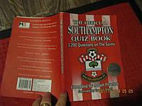 про Футбол журнал на английском языке книга SOUTHAMPTON QUIZbook