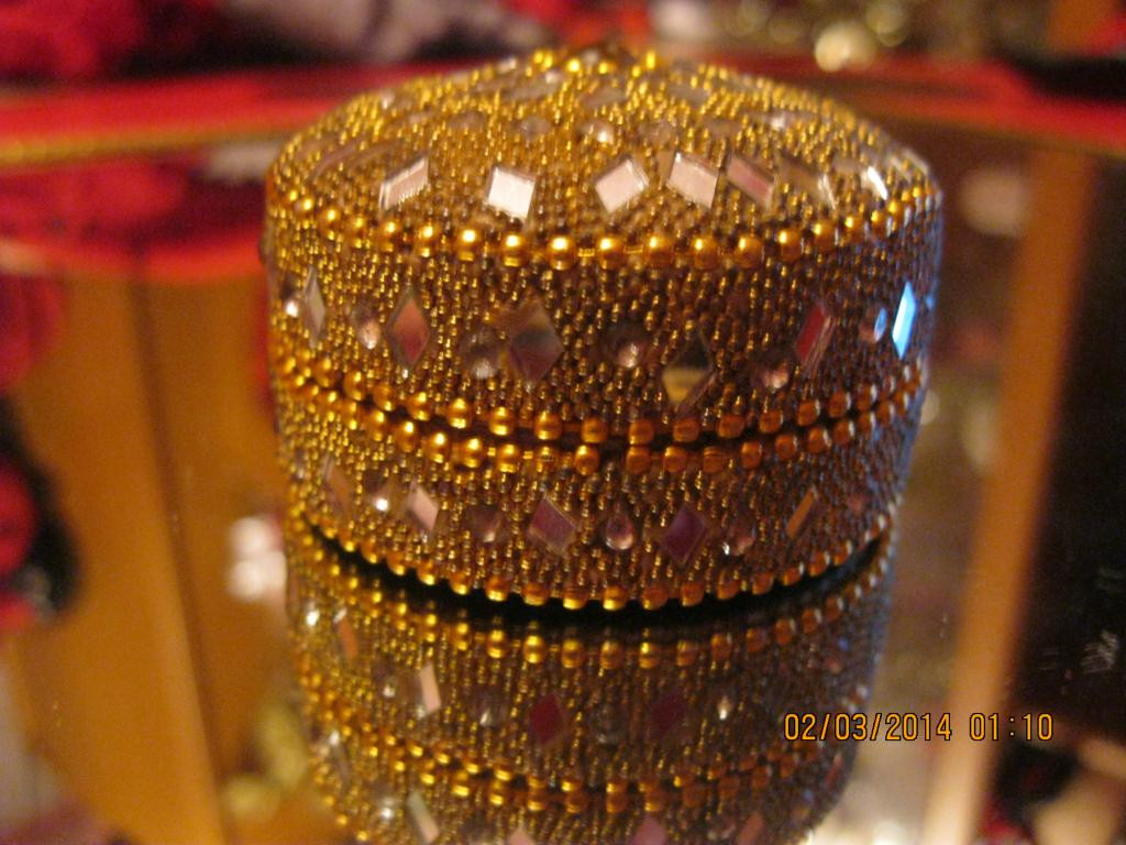 Сувенир старинная шкатулка круглая СИРИЯ очень красивая вещь - SOLARIS2013 в Днепре