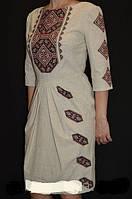 Эксклюзивное вышитое платье Модерн