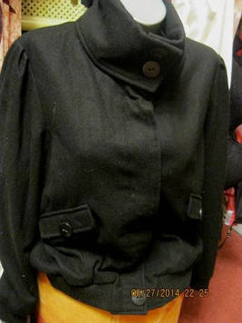 Пальто куртка женская качество отличное черная 48 M 14 фирма GEORGE