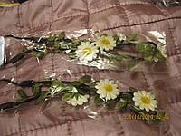 Повязка обруч резинка ромашки цветы греческая повязка