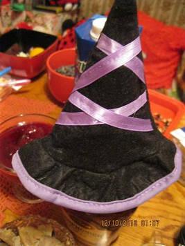 Шапка колпак на куклу одежка одежда шляпа игрушечная,игрушка