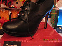 Ботильоны ботинки сапоги туфли женские новые 40р черные распродажа полная