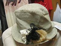 женская Шляпа стильная бежевая новая светлая взрослая летняя CLAIRES