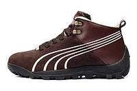 Зимние кроссовки Puma brown