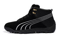 Зимние кроссовки Puma black