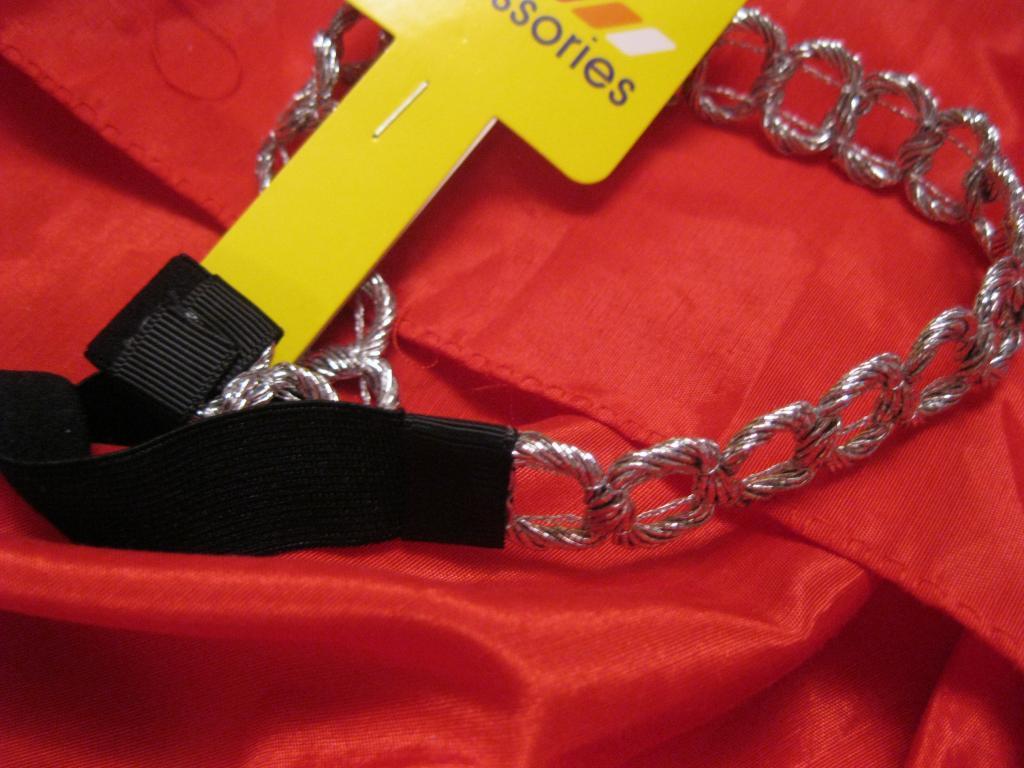 Повязка обруч цвет-серебро новая шикарная серебро для греческой прически
