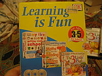 Диски на английском языке на 3-5 лет набор 3шт обучающие