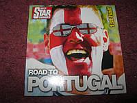 Диск на английском языке ROAD TO PORTUGAL футбол?
