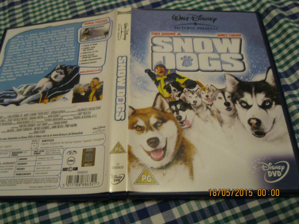 Диск детский snow dogs лицензия БРИТАНИЯ АНГЛИЙСКИЙ ЯЗЫК МУЛЬТФИЛЬМ