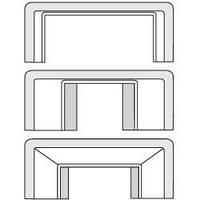 Набор адаптеров для миниканалов (3 штуки в упаковке)