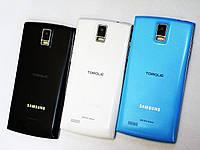 Смартфон Samsung Galaxy Wave копия 2SIM 3G 5 дюймов 2 ядра 512 МБ ОЗУ GPS 5 Мп, фото 1