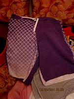 Шорты летние МУЖСКИЕ S 44-46р отличные фиолетовые, фото 1