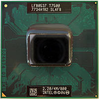 Intel Core 2 Duo T7500 2.2GHz/4M/800 socket P +термопаста