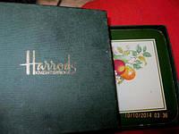 Подставка под горячее набор в коробочке Harrods