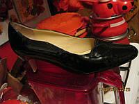 Туфли как новые черные лак 40р LOTUS туфли