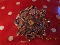 Брошь брошка на сумку украшение блестит камни шик!