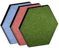 Декоративное резиновое покрытие