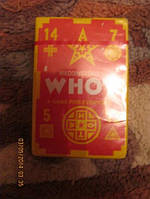 Карточки Waddingtons на английском языке WHOT  цена за 2 колоды игра для всех