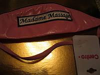 Повязка обруч игровой латекс заколка розовая мадам
