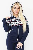 Женский теплый костюм спортивный с оленями БАТАЛ, фото 1