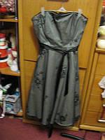 Платье нарядное вечернее 14 М 48 фирменное плечи открытые шикарное распродажа