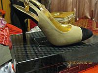 босоножки туфли от Валентина Юдашкина эко замша 37р отличная удобная стильная модель, фото 1