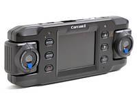 Автомобильный видеорегистратор DVR Carcam III X8000 HD 720p 140 градусов 2 камеры GPS