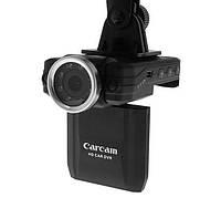 Автомобильный видеорегистратор DVR Carcam P6000 Full HD 1080p 140 градусов с поворотной камерой
