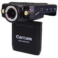 Автомобильный видеорегистратор DVR Carcam P5000 HD 720p 140 градусов с поворотной камерой