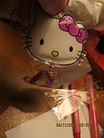 Брелок китти кошка сувенир на ключи кошечка
