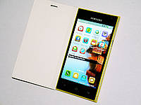 Телефон Samsung Caimi S9 Желтый - 5''+2Sim+2Ядра+ЧЕХОЛ+2батареи, фото 1