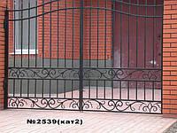 Ворота прозрачные. Кованые с качественной покраской.