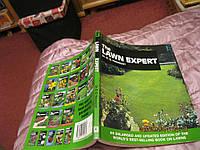 Книга альбом на английском ланшафт THE LAWN ESPERT