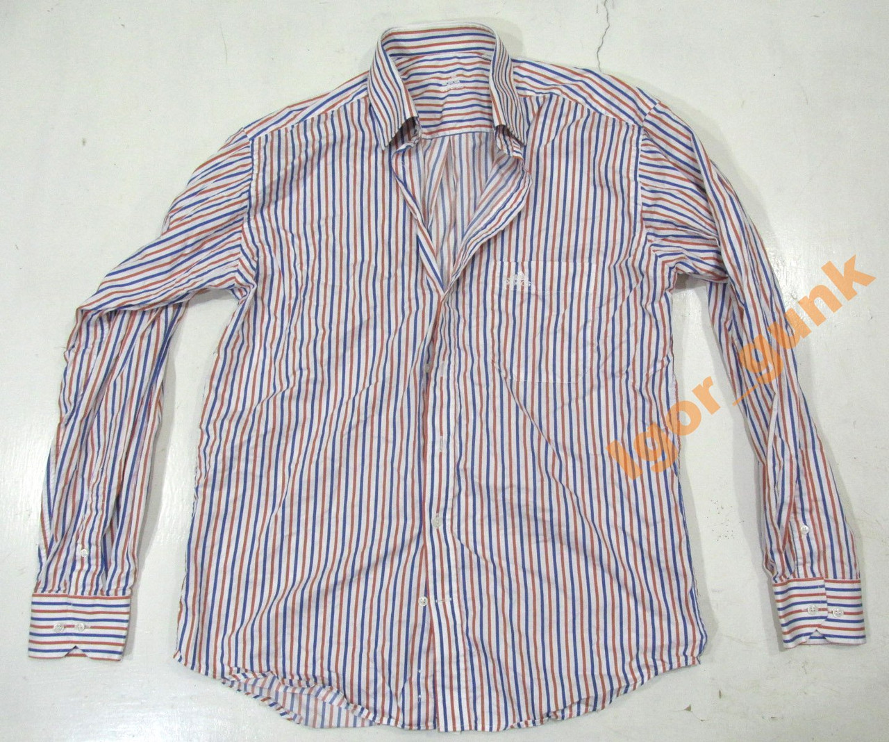 Рубашка ADIDAS. 40. COTTON, ОРИГИНАЛ!