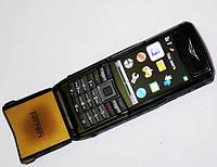 Мобильный телефон машинка Vertu Ferrari F510 копия 2 сим металлический корпус